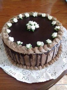 Fenséges csokoládétorta