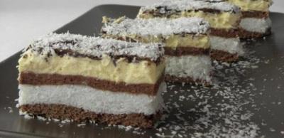 Kókuszhercegnő, a világ legfinomabb süteménye