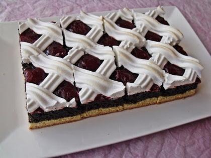 Rákóczi mákos sütemény