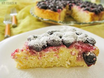 Gyümölcsös Kuszkusz Torta (Cukormentes recept)