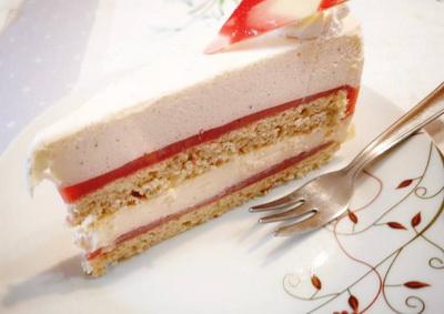Epres, vanília torta