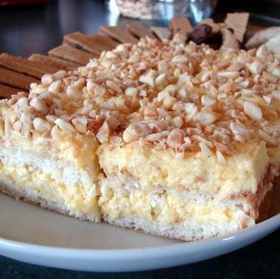 Kókuszos-Mandulás süti