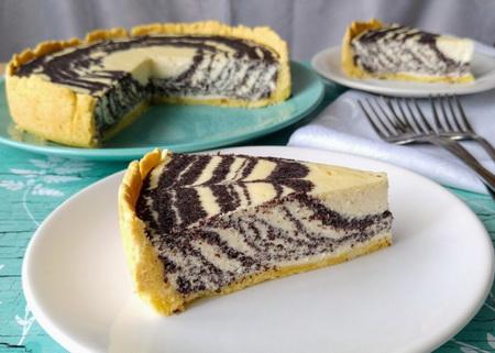Mákos túrótorta-Isteni sütemény
