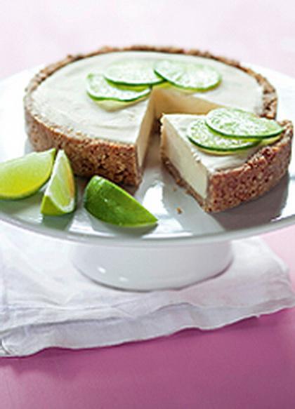 Lime-fagylaltos keksztorta