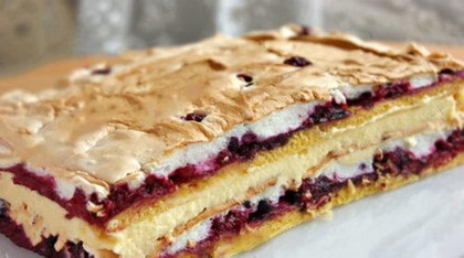 Hihetetlenül finom és gyönyörű lengyel sütemény: Pani Walewska